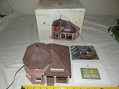 Dept 56 Seasons Bay #53405 The Grand Creamery 1998 Ceramic Lighted Building