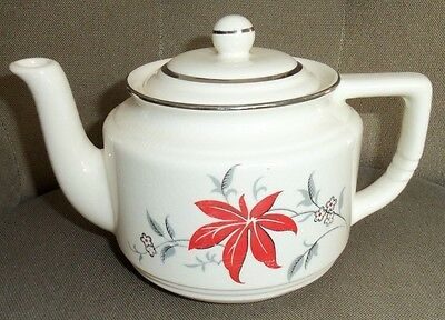 "Rare Vintage Harker Teapot "" MODERN AGE ""  Oldest Pottery in American Chinaware"