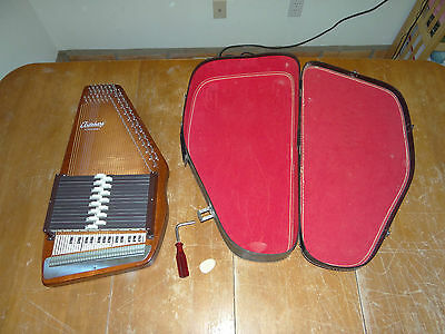 Autoharp by Oscar Schmidt 15 Chord 36 Strings with Tool & Case Music Instrument