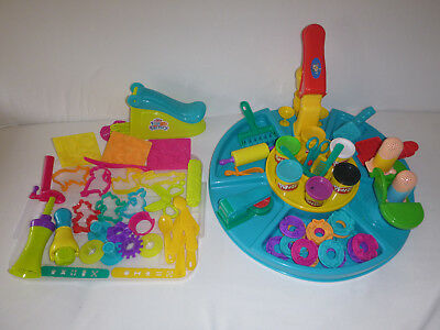 Play Doh Set with Cutters Moulds Stamps Noodle Maker