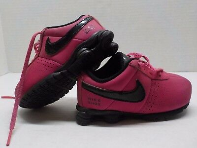 Nike Shox shoes toddler infant Girl size 6 c athletic sneakers PINK Free  shippin