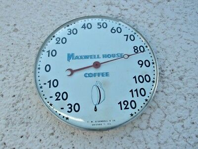 HARD TO FIND 1950's MAXWELL HOUSE  COFFEE THERMOMETER