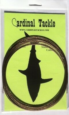 49-Strand Stainless Steel Shark Cable 270# 9.1m 7x7. Cardinal Tackle. Best Price