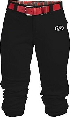 (Small, Black) - Rawlings Sporting Goods Girls Launch Pant. Brand New
