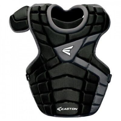 (Red/Silver) - Easton M10 Intermediate Catcher's Chest Protector. Free Shipping
