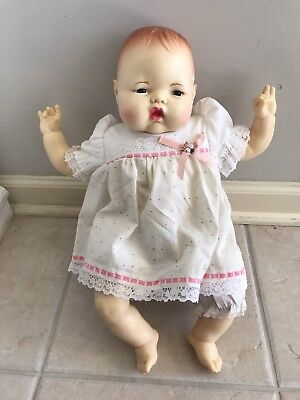 "1983 IDEAL 17"" THUMBELINA Collector Doll Baby Original Outfit"