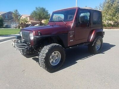 2001 Jeep Wrangler Sahara 2001 Jeep Wrangler Sahara * 6cyl Manual * Only 89k Mile * Lots of Mods!