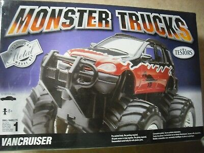 Testors Monster Trucks Vancruiser Metal Kit
