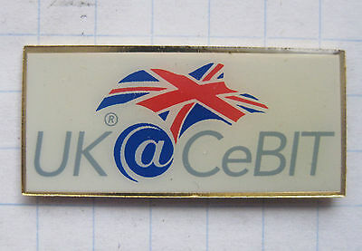 UK @ CEBIT / HANNOVER    ................ Computer-Pin (109g)