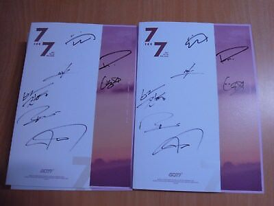 GOT7 - 7 For 7 (7th Mini Promo) with Autographed (Signed)