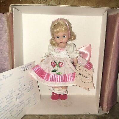 "Madame Alexander Sweet Rose 8""  Doll  NEW WITH TAG"