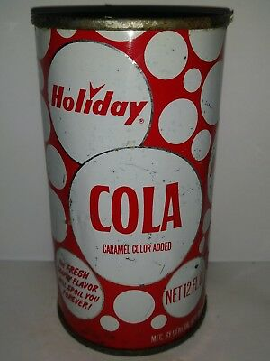 Holiday Cola Flat Top Soda Can - St.paul, Mn!!!