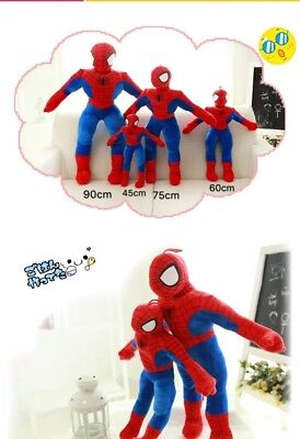 Kids Gift Toy Spider-Man Soft Stuffed Toys For Kid Dolls 75cm Tall