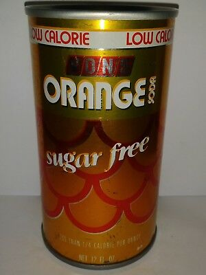 Von's Low Calorie Sugar Free Orange Pull Tab Soda Can - El Monte, Ca!!!