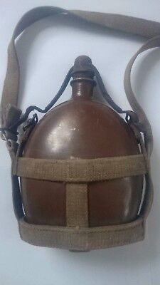 WW2 Japanese Water Canteen of Army land battle corps