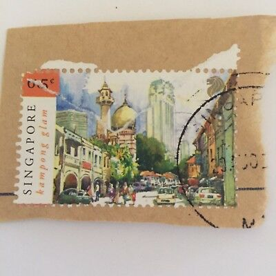 Singapore Postage Stamp Collectable