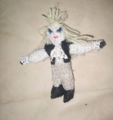 Handmade David Bowie Jareth Doll Figure Brooch OOAK quirky