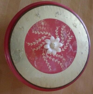 Collectable Vintage Avon Glass Powder Puff Box