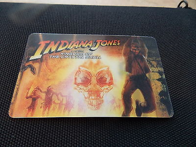 Rare 'Indiana Jones Lenticular' Gift Card from ROGERS Canada