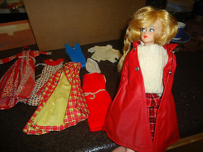 Vintage 1960s American Character Tressy Doll w/ Clothes