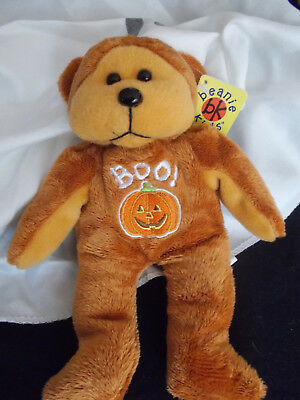 Spooky the Ghost Bear - Special Halloween Bear - Retired 2003