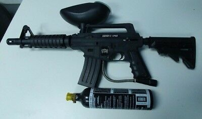 Tippmann Bravo One Paintball Marker Gun WORKS GREAT W/ CO2 CAN