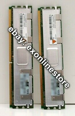 397413-B21 - 4GB Fully Buffered DIMM PC2-5300 2x2GB DDR2 Kit 2 x 416472-001
