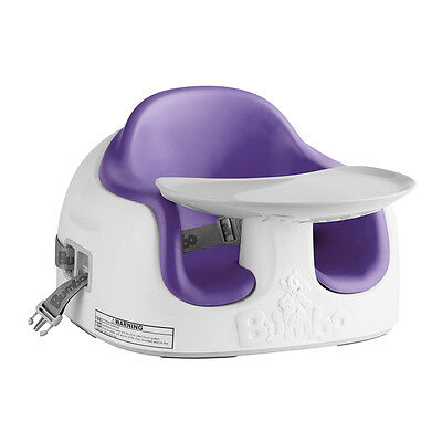 Bumbo Multi Seat - Plum, Kids Booster Feeding Chair, Only at Toys R Us