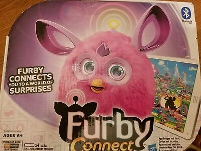 Furby Connect - Pink Purple  Interactive Plush Toy - Hasbro BRAND-NEW! Bluetooth