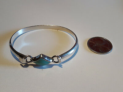 Mexico Sterling Silver Bracelet Bangle 925 excellent condition
