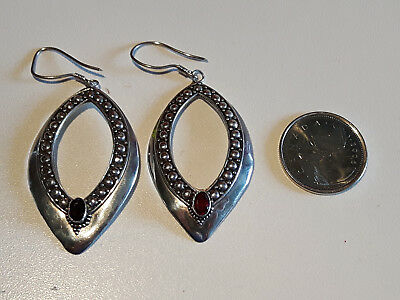 Pair of Sterling Silver Earrings marked 925 good condition