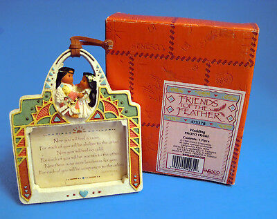 Apache Blessing 1998 ©Friends of the Feather Wedding Photo Frame NIB - Last One!