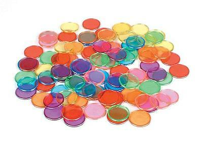 Magnetic Counting Chips 100 pieces Counters Teacher Resource Light Box Wands