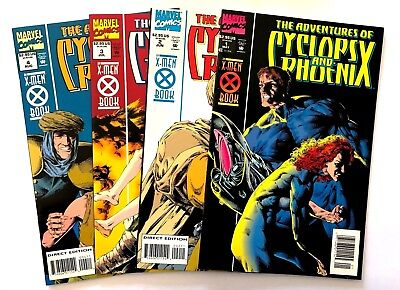 The Adventures of Cyclops and Phoenix #1-4 (1994, Marvel) Complete 4-Issue Run