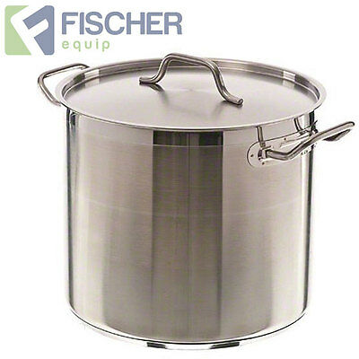 """""""brand New"""" 25L Commercial 18/10 Stainless Steel Stock Pot Cookware Sp-25"""