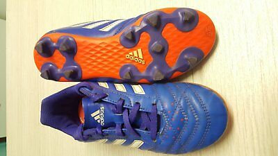 Adidas Soccer Football Boots Kids  US 1 UK 12.5 Great Condition