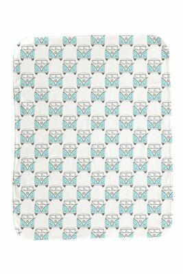 NEW Baby Kombi Blue Repeat LS Baby Blanket Baby