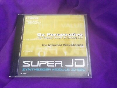 Roland JD9D-3 Oz Perspective Sound Card for JD990