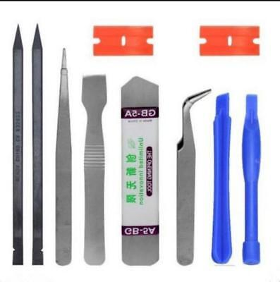 10x  Mobile Repair Opening Tools Kit Set Pry Screwdriver For Cell Phone iPhone