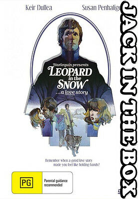 Leopard In The Snow DVD NEW, FREE POSTAGE WITHIN AUSTRALIA REGION ALL