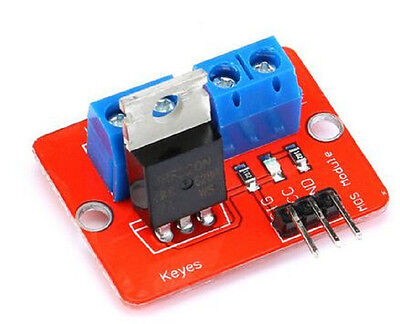 1pcs 0-24V Top Mosfet Button IRF520 MOS Driver Module For MCU ARM Raspberry pi
