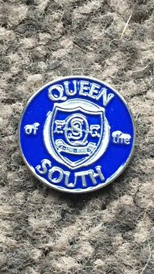 Queen Of The South enamel badge