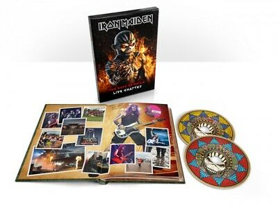 Iron Maiden - The Book of Souls: Live Chapter Deluxe (2CD book)