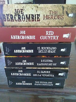 Lotto fantasy di Joe abercrombie