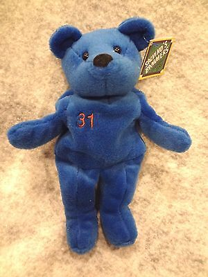 SALVINO'S BAMMERS OPENING DAY SPRING 1999 MIKE PIAZZA #31 BLUE BEAR~New With Tag