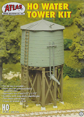 Model Train HO - Water Tower Kit from Atlas #703