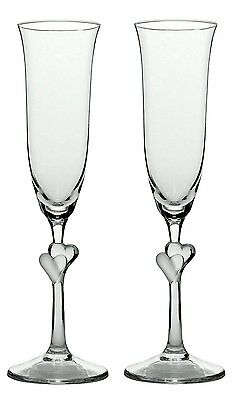 Stoelzle_Lausitz 388 52 07 L Amour Champagne Flute with Satin Heart Set of 2,175