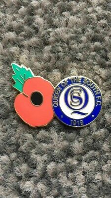 Queen of the South Poppy Badge
