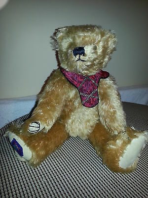 "Merrythought Teddybears Ltd Edition No 102 Mohair 15""growler Made In England"
