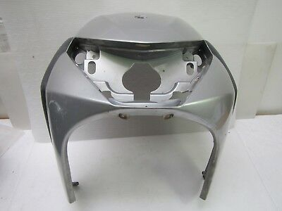 PIAGGIO BEVERLY 125 FRONT HOOD PANEL FRONT Silver